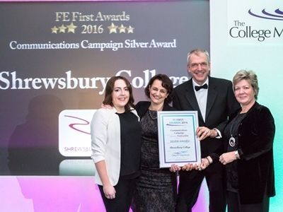 Annual Conference, College Marketing Network, FE First Awards, Shrewsbury College, Communications Campaign