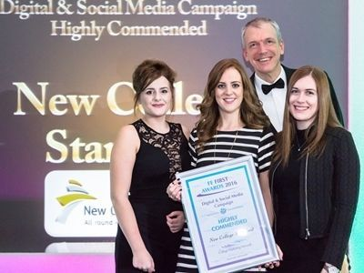 Annual Conference 2016, FE First Awards 2016, College Marketing Network, New College Stamford, Digital & Social Media Campaign